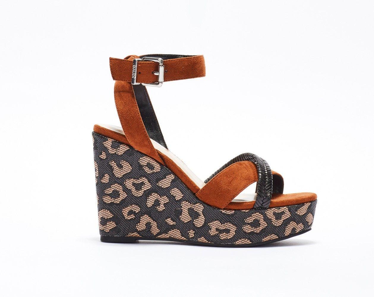 Sandales avec plateau Gaudì