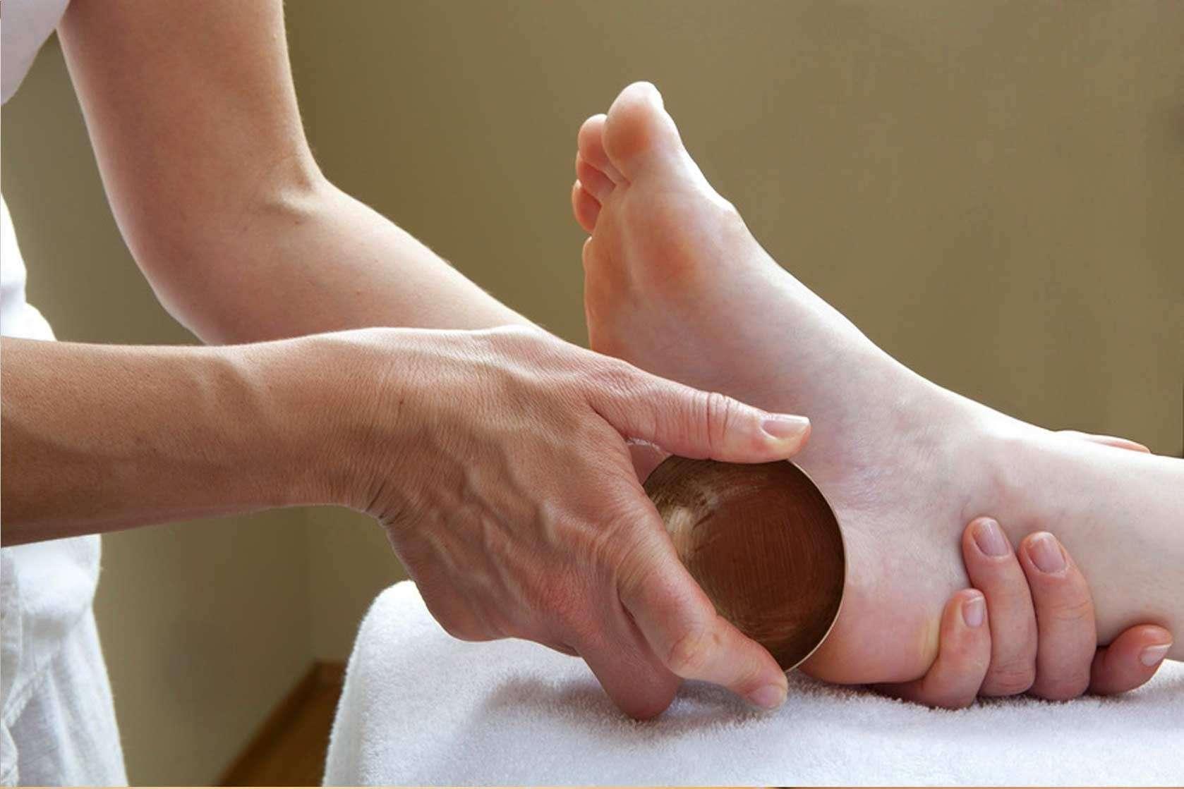 Massage des pieds bol Kansu 30 minutes